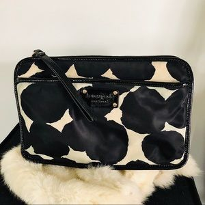 KATE SPADE Nylon Patent Leather Make up Clutch